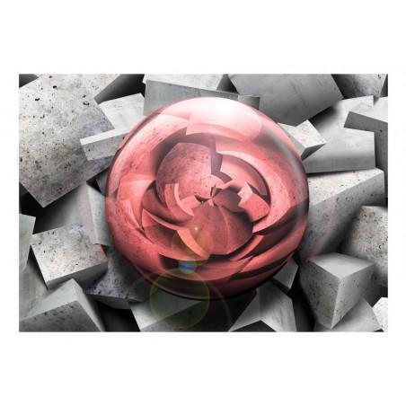 Fotomurale - Rosa di pietra - Quadri e decorazioni