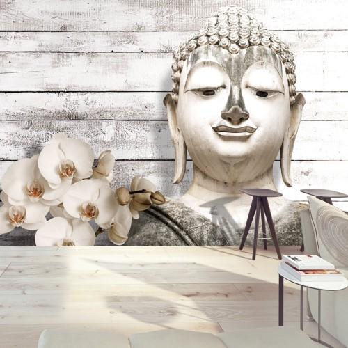 Fotomurale - Buddha sorridente - Quadri e decorazioni
