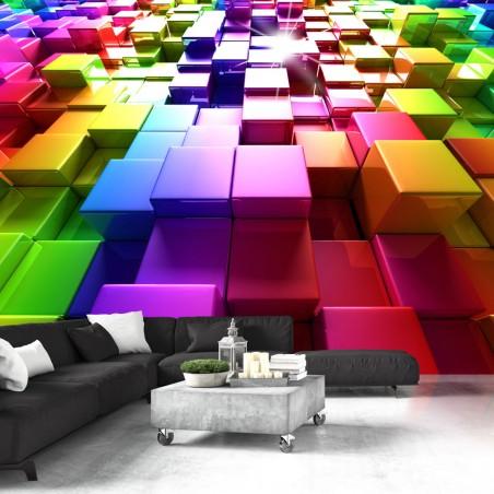 Fotomurale - Colored Cubes - Quadri e decorazioni