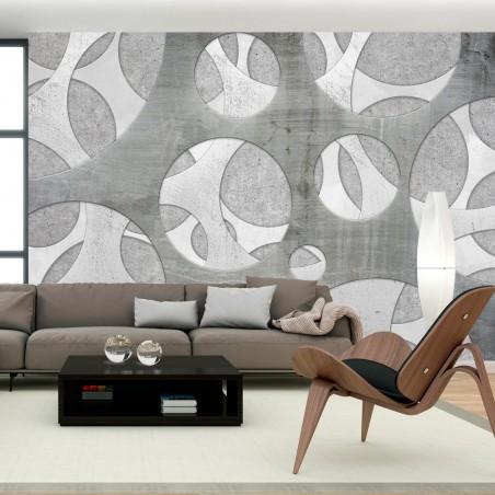 Fotomurale - Woven of grays - Quadri e decorazioni
