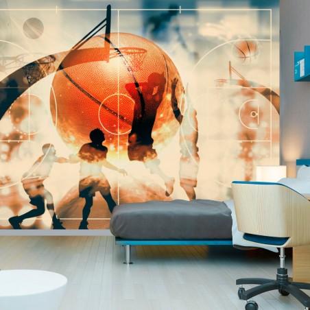 Fotomurale - Amo il basket! - Quadri e decorazioni