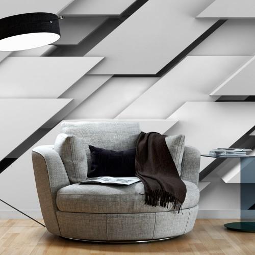 Fotomurale - Confini del grigio - Quadri e decorazioni