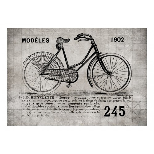 Fotomurale - Bicycle (Vintage) - Quadri e decorazioni