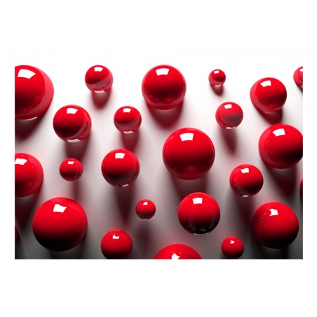 Fotomurale - Red Balls - Quadri e decorazioni
