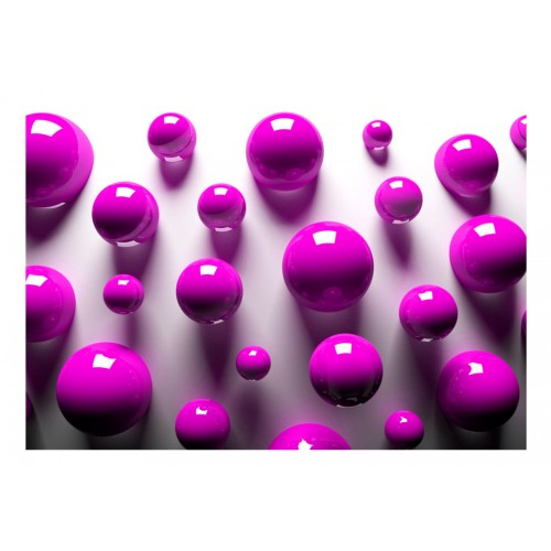 Fotomurale - Purple Balls - Quadri e decorazioni