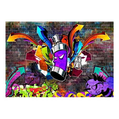 Fotomurale - Graffiti: Colourful attack - Quadri e decorazioni
