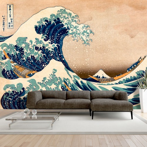 Fotomurale - Hokusai: The Great Wave off Kanagawa (Reproduction) - Quadri e decorazioni