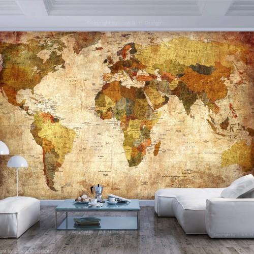Fotomurale - Old World Map - Quadri e decorazioni