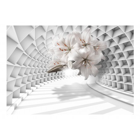Fotomurale - Flowers in the Tunnel - Quadri e decorazioni