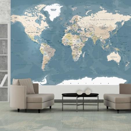 Fotomurale - Vintage World Map - Quadri e decorazioni