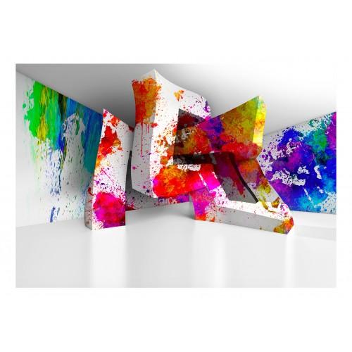 Fotomurale - Three-dimensional Shapes - Quadri e decorazioni