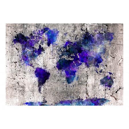 Fotomurale - World Map: Ink Blots - Quadri e decorazioni