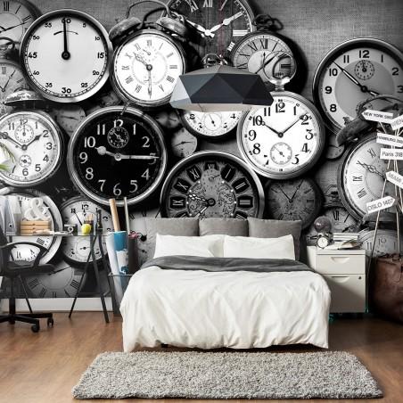 Fotomurale - Retro Clocks - Quadri e decorazioni