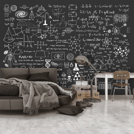 Fotomurale - Science on Chalkboard - Quadri e decorazioni