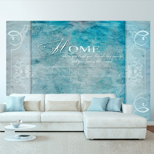Fotomurale - Home, where you... - Quadri e decorazioni