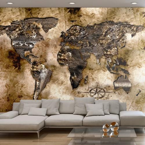 Fotomurale - Vecchia mappa del mondo - Quadri e decorazioni