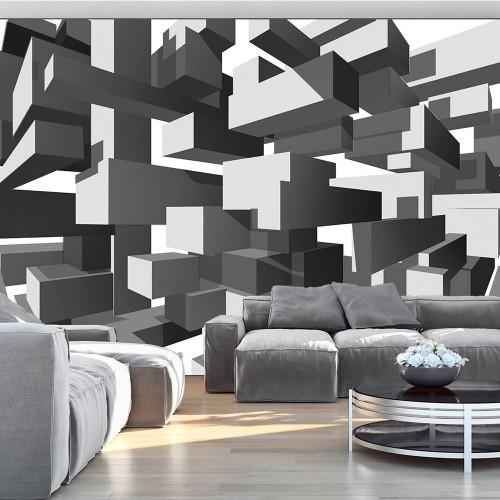 Fotomurale - Grey notes - Quadri e decorazioni
