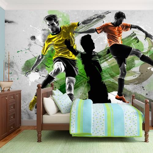 Fotomurale - Campioni di football - Quadri e decorazioni