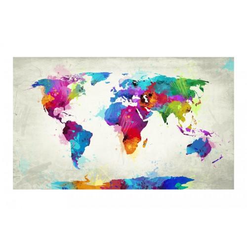Fotomurale - The map of happiness - Quadri e decorazioni