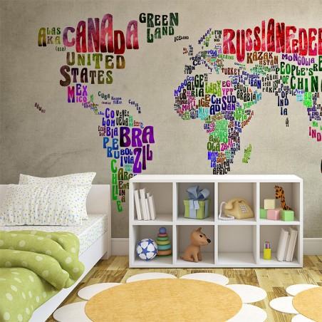 Fotomurale - Mondo migliore - Quadri e decorazioni