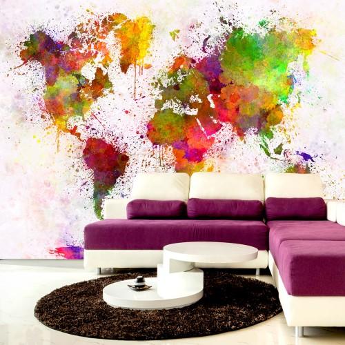 Fotomurale - Dyed World - Quadri e decorazioni
