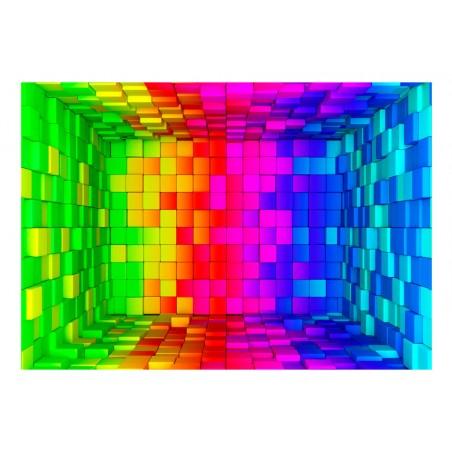 Fotomurale - Rainbow Cube - Quadri e decorazioni