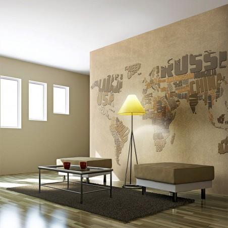 Fotomurale - Mappa degli esploratori - Quadri e decorazioni