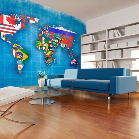 Fotomurale - Flags of countries - Quadri e decorazioni