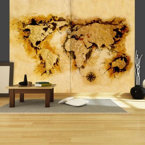 Fotomurale - Mappa dei cercatori d'oro - Quadri e decorazioni