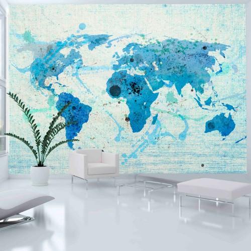 Fotomurale - Cruising and sailing - The World map - Quadri e decorazioni