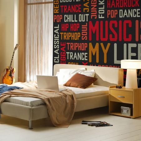Fotomurale - Music is my life - Quadri e decorazioni