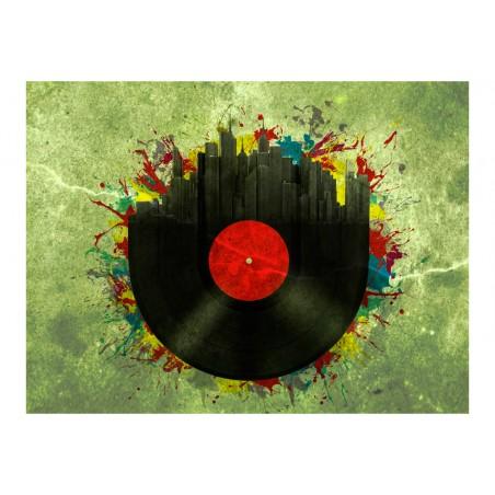 Fotomurale - Colorful melodies of the city - Quadri e decorazioni