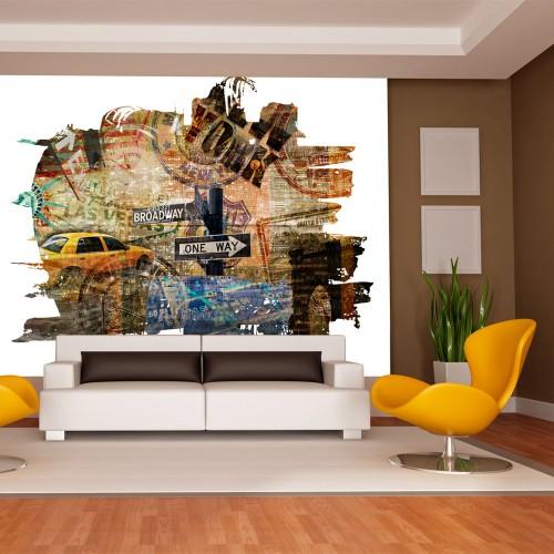 Fotomurale - New York collage - Quadri e decorazioni