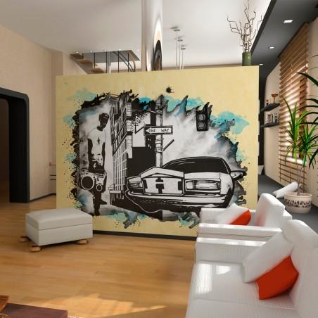 Fotomurale - Urban atmosphere - Quadri e decorazioni