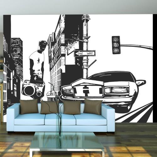 Fotomurale - Impronta di città - Quadri e decorazioni
