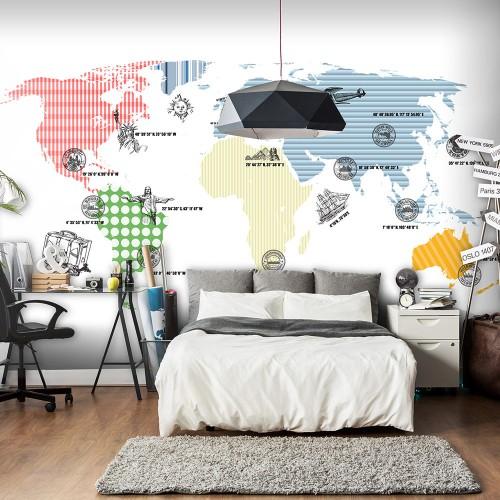 Fotomurale - Cosmopolitan - Quadri e decorazioni