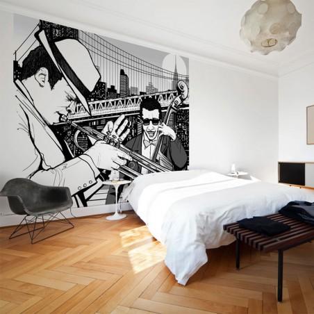 Fotomurale - New York, musica, jazz... - Quadri e decorazioni