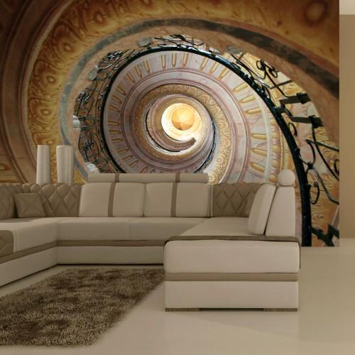 Fotomurale - Decorative spiral stairs - Quadri e decorazioni