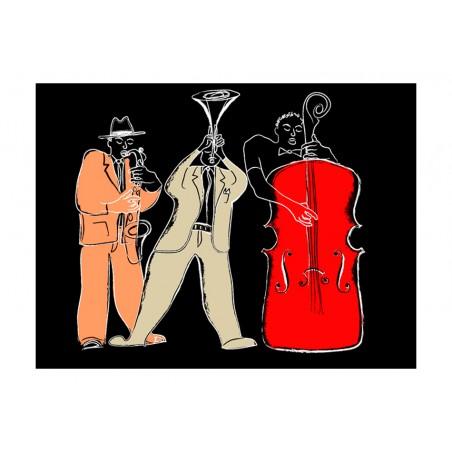 Fotomurale - strumenti musicali (jazz) - Quadri e decorazioni