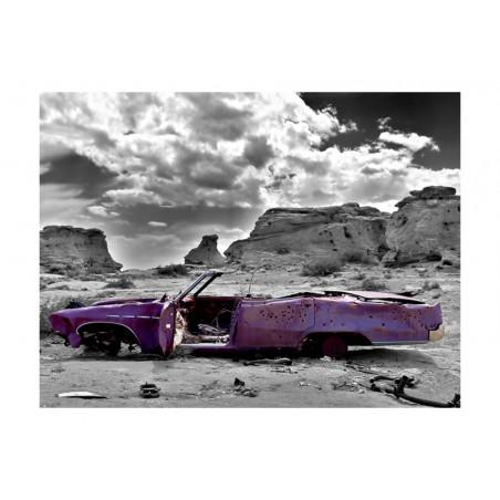 Fotomurale - Macchina retro nel deserto di Colorado - Quadri e decorazioni