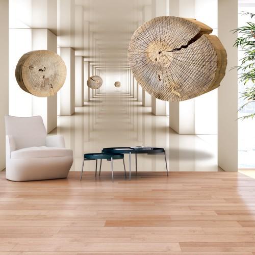 Fotomurale - Legno volante - Quadri e decorazioni