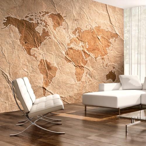 Fotomurale - Sandy Map - Quadri e decorazioni
