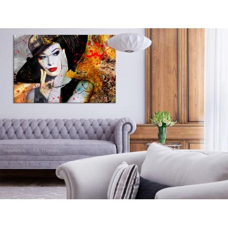 Quadro - Elegant Lady (1 Part) Wide - Quadri e decorazioni