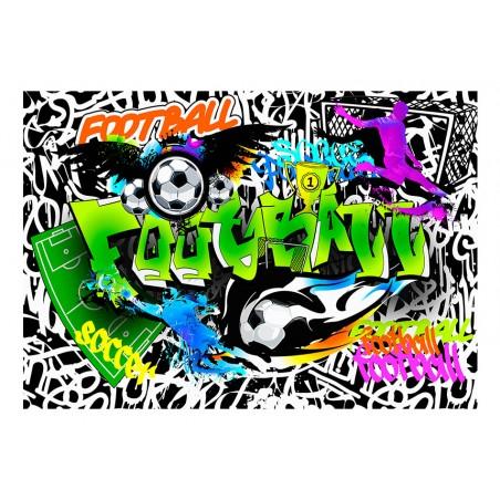 Fotomurale - Football Graffiti - Quadri e decorazioni
