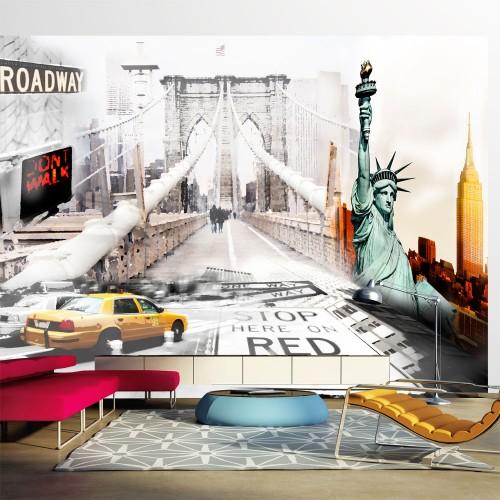 Fotomurale - Vie di New York - Quadri e decorazioni