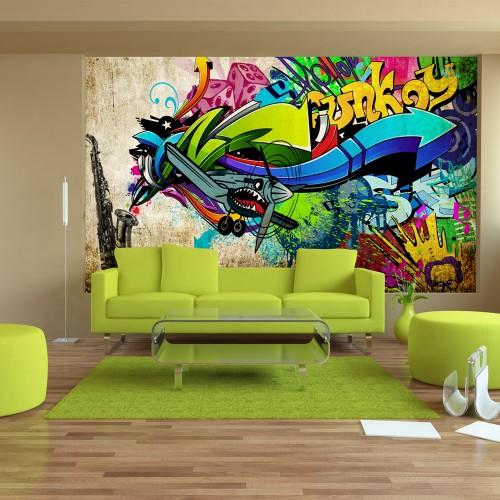 Fotomurale - Funky - graffiti - Quadri e decorazioni