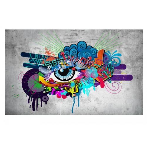 Fotomurale - Graffiti eye - Quadri e decorazioni