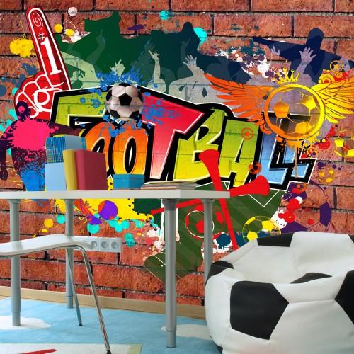 Fotomurale - Football fans! - Quadri e decorazioni