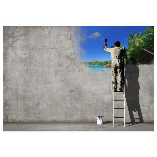 Fotomurale - Il processo creativo - Quadri e decorazioni