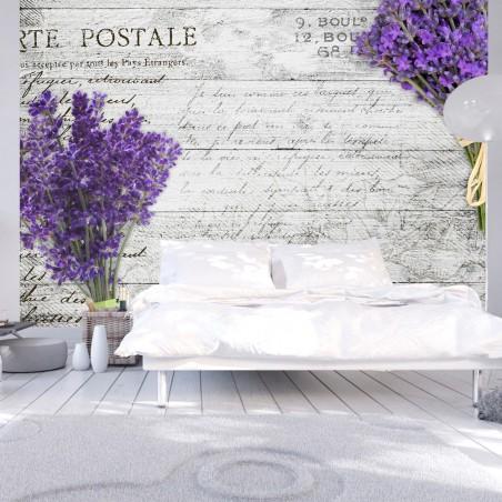 Fotomurale - Lavender postcard - Quadri e decorazioni